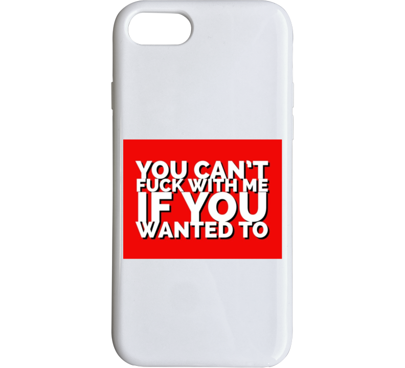 Cardi B - You Can't F*** With Me Phone Case