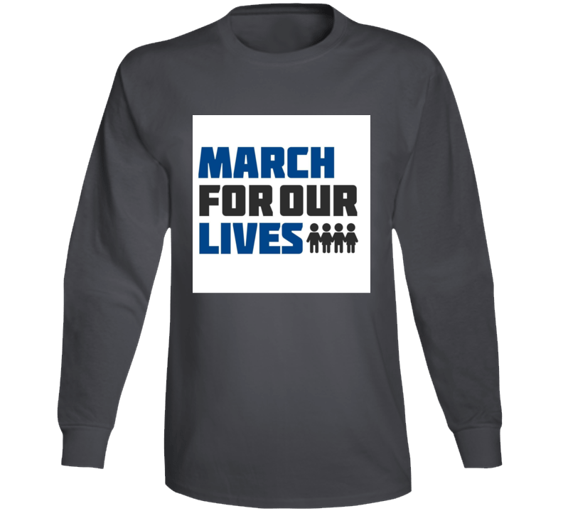 March For Our Lives  Support Tshirt