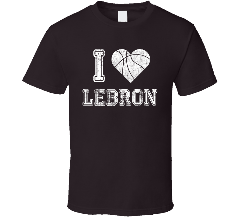 I Love Lebron Basketball Playoffs Tshirt