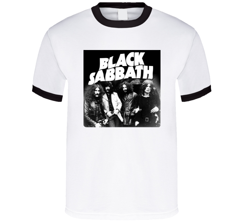 Black Sabbath Retro Rock Group Tshirt