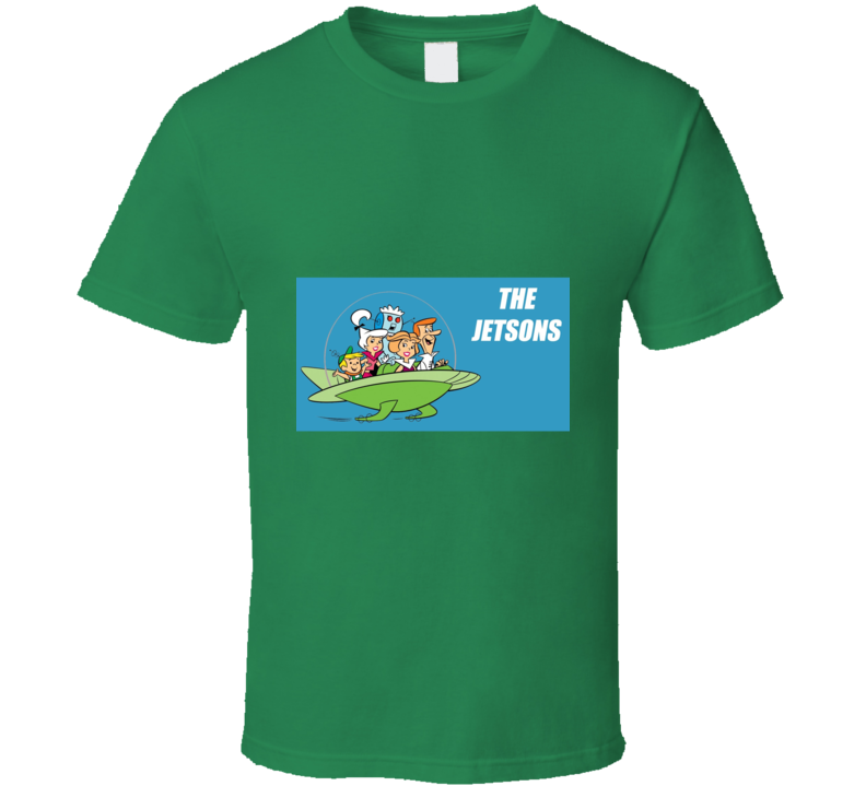 The Jetsons Family Retro Cartoon Tshirt