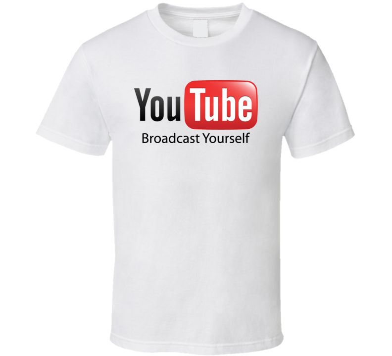 You Tube Logo T Shirt