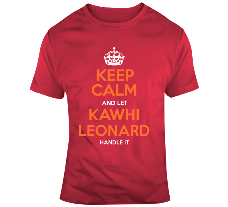 Raptors Kawhi Leonard Tshirt T Shirt