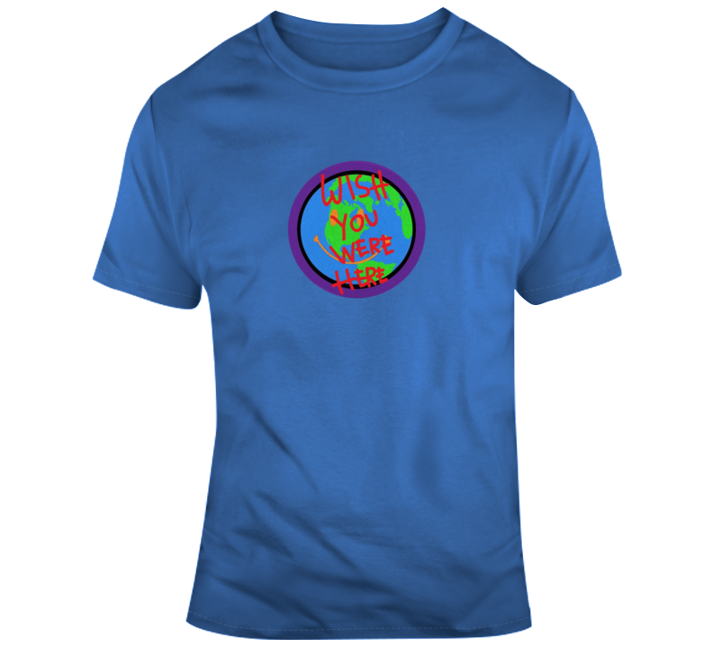 Wish You Were Here Astroworld Tour T Shirt
