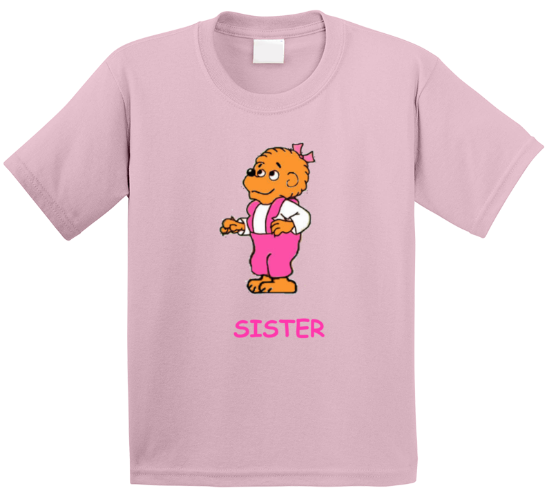 Berenstain Bears Sister Bear 80s Childrens Cartoon T Shirt