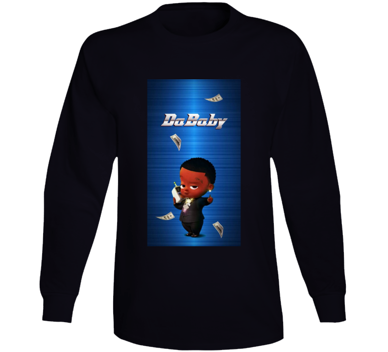 Dababy Baby Talks Album Cover Long Sleeve