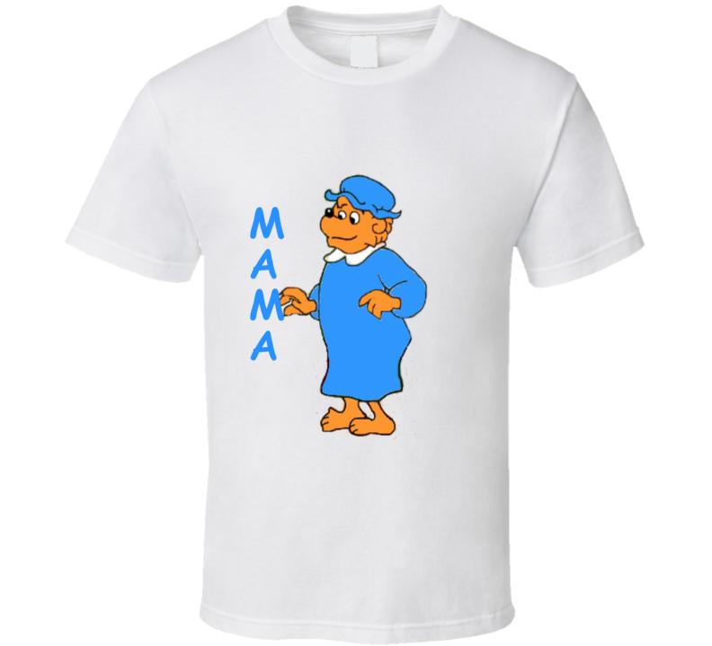 Berenstain Bears Mama Bear Cartoon T Shirt