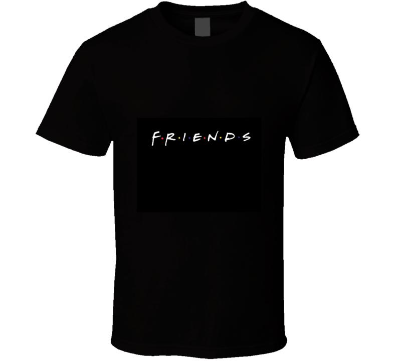 Friends Classic Sitcom Logo T Shirt