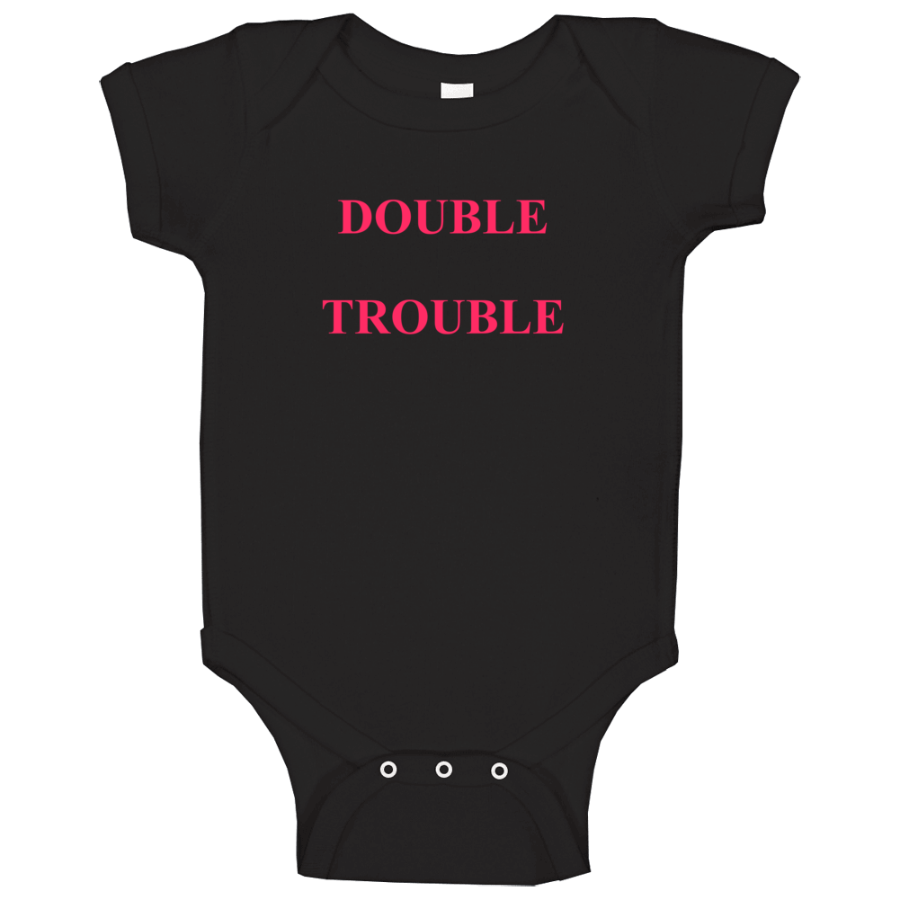 Cute Twins Baby One Piece