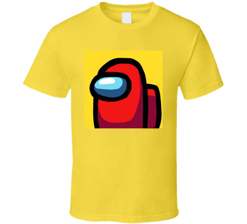 Among Us Character T Shirt