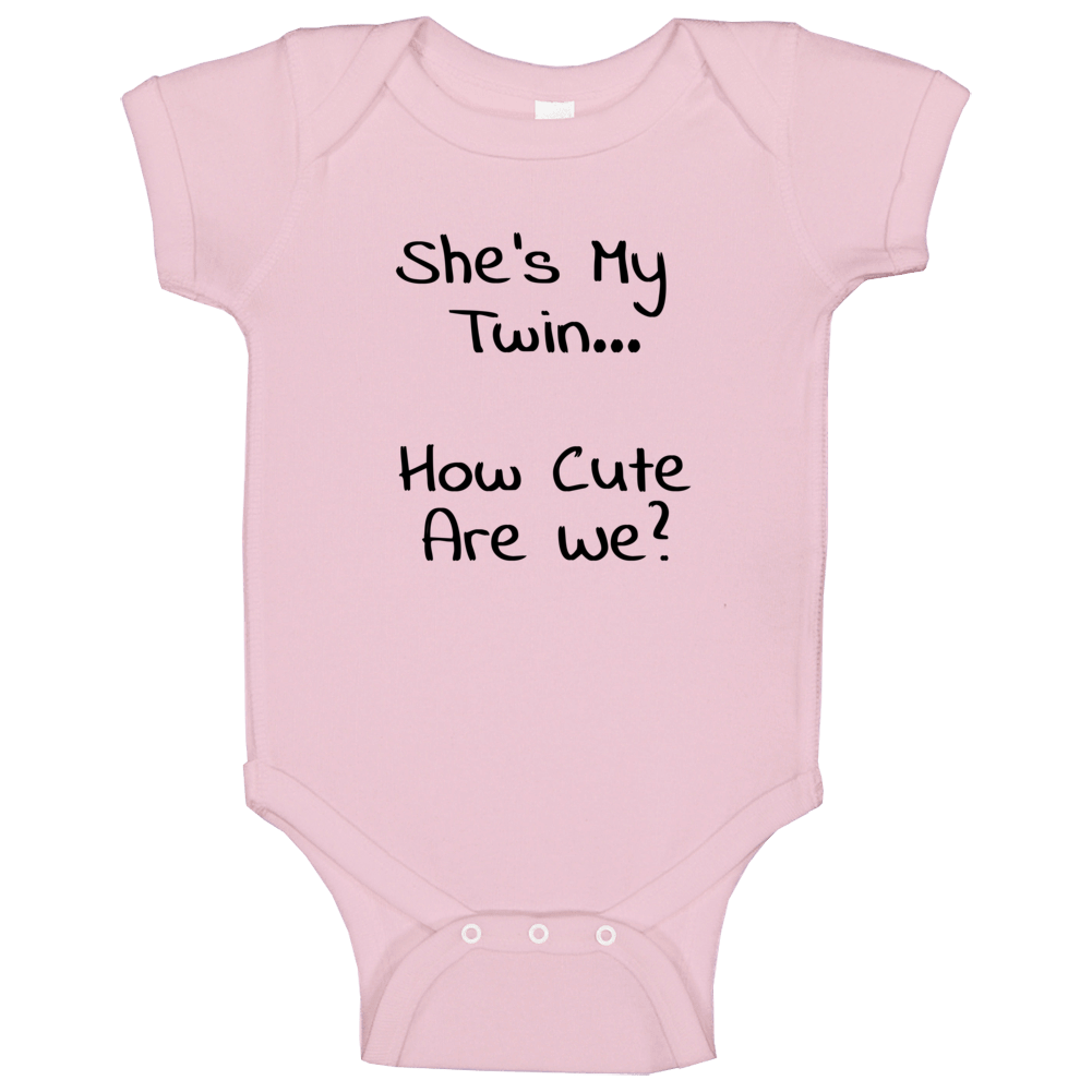 Twin Girl Baby One Piece