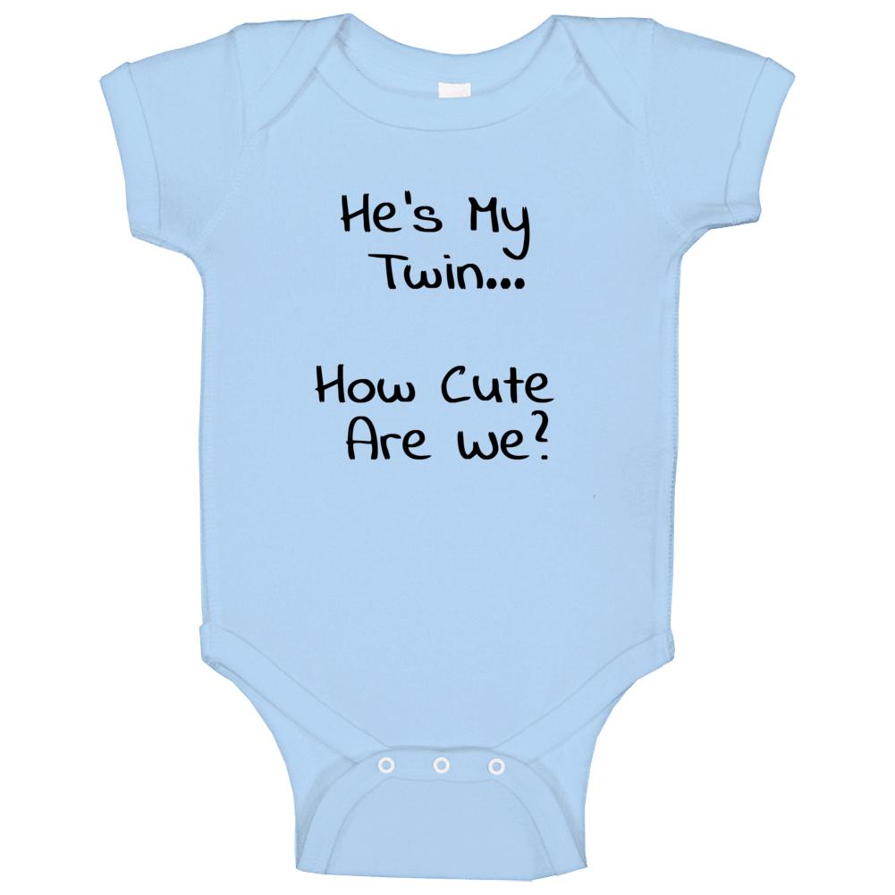 Twin Baby Boy Baby One Piece