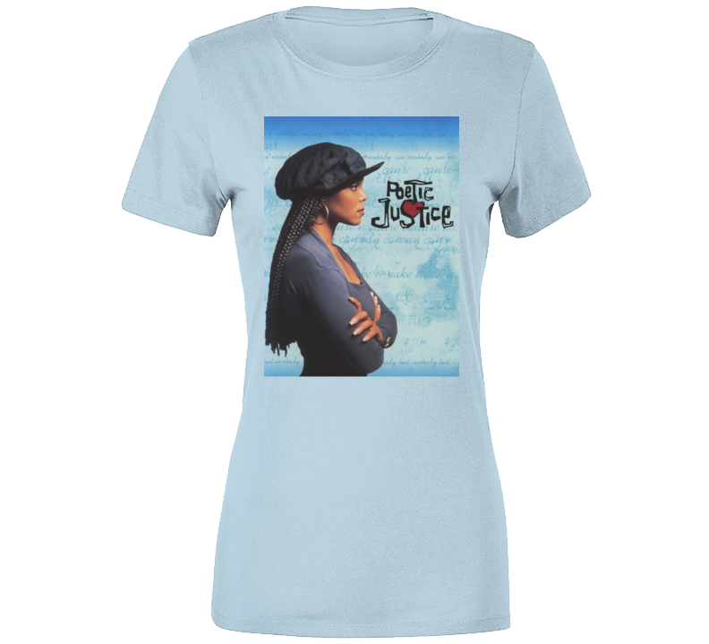 Poetic Justice 90s Janet Jackson Movie Ladies T Shirt