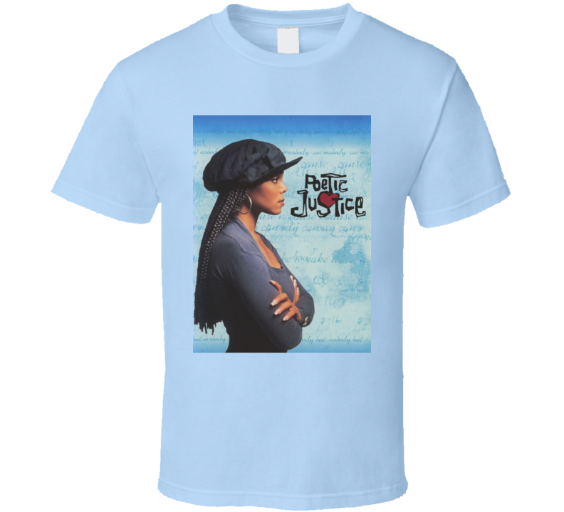 Poetic Justice 90s Janet Jackson Movie T Shirt
