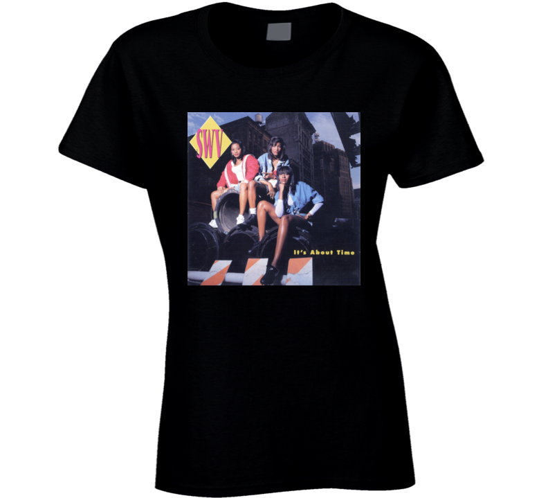 Swv Its About Time 90s Album Cover Ladies T Shirt