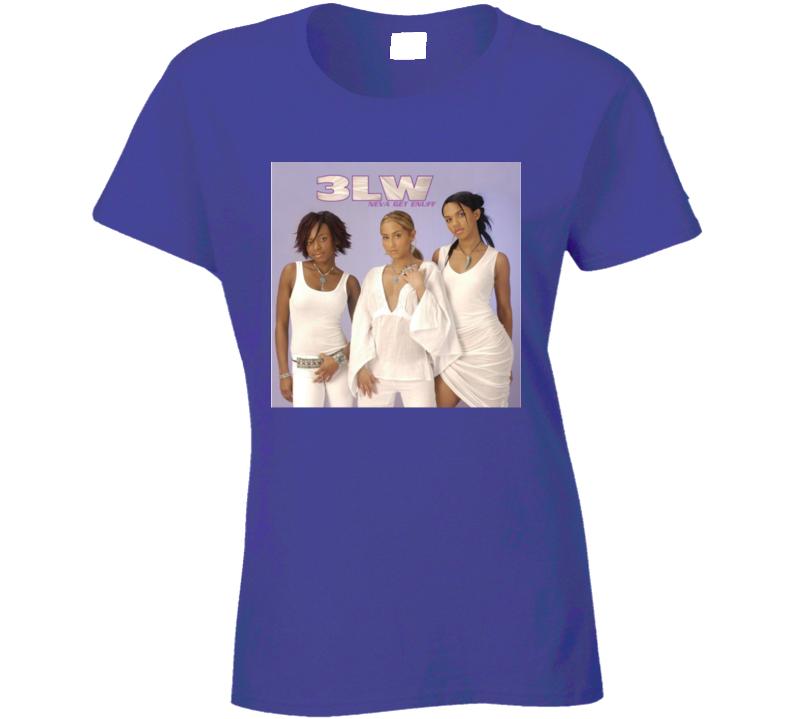 3lw Reteo Girls Music Group Ladies T Shirt