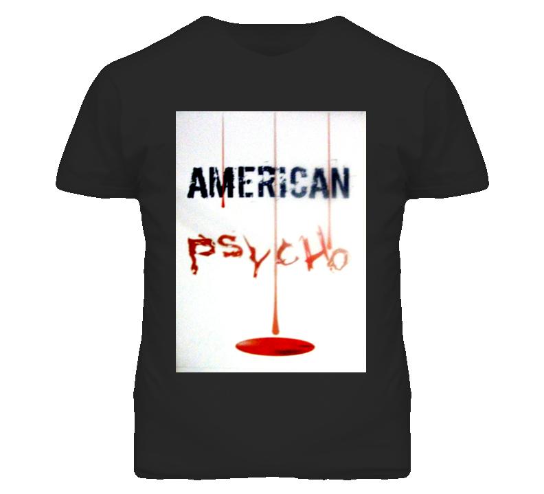 American Psycho Horror Movie Tshirt