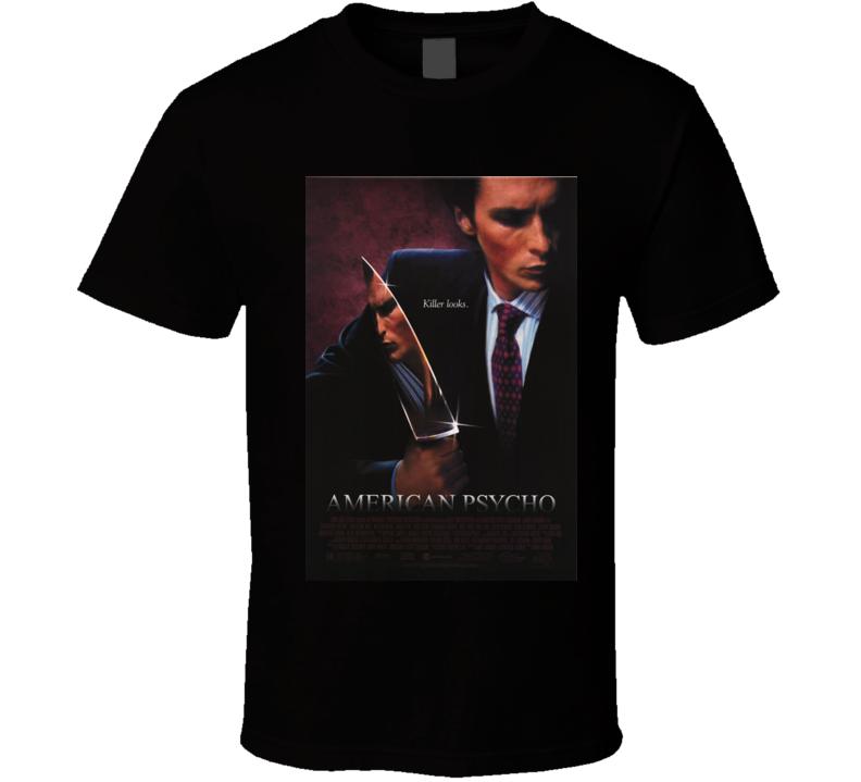 American Psycho Killer Looks Tshirt