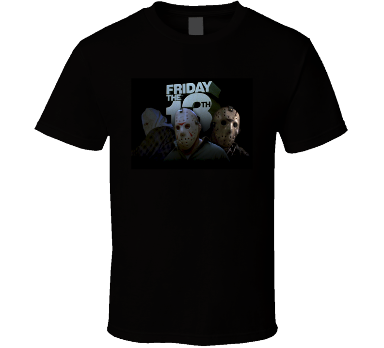 Friday the 13th Horror Movie Tshirt