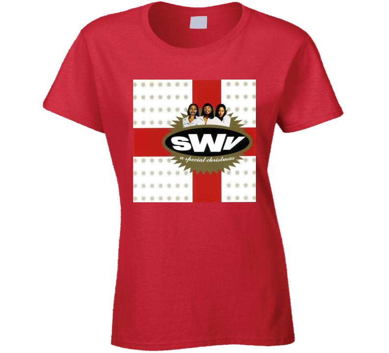 SWV 90s Christmas Album Tshirt
