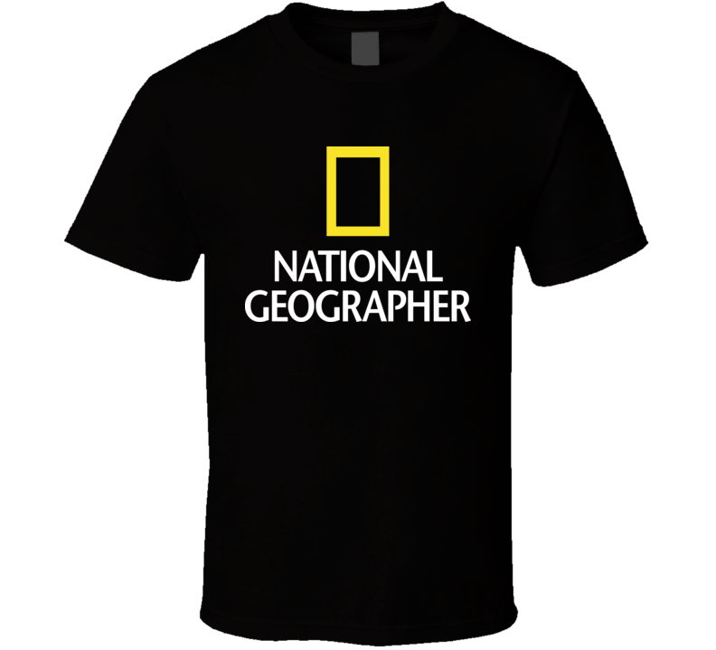 National Geographer T Shirt