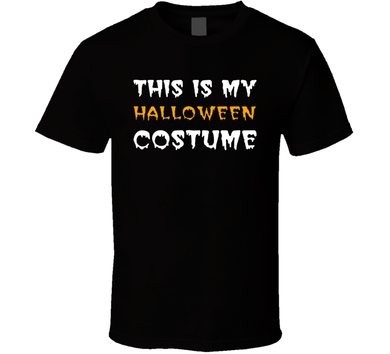 Halloween Costume T Shirt