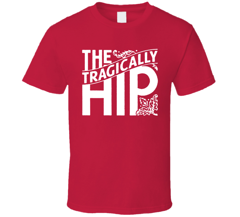 The Tragically Hip Concert Logo T Shirt
