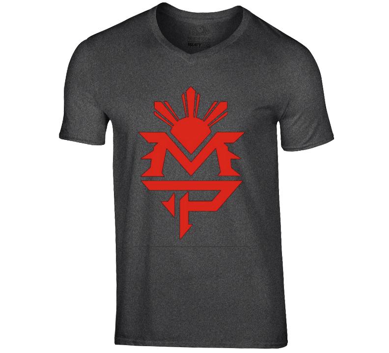 Manny Pacquiao Logo V-Neck Tshirt