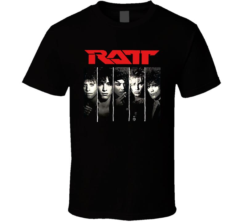 Ratt Heavy Metal Music Classic Cool T Shirt
