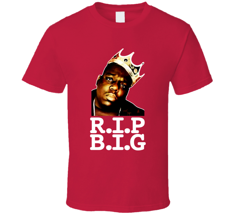 Biggie Smalls Hip Hop Tribute T Shirt