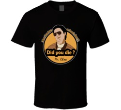 Mr Leslie Chow Hangover Classic Funny Movie T Shirt