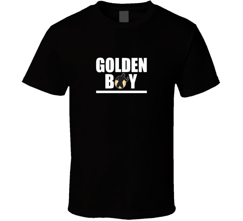 Oscar De La Hoya Golden Boy Boxing Legend T Shirt