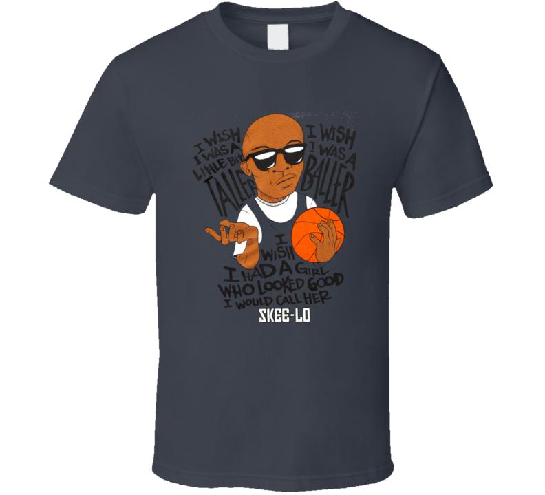 Skee-Lo I Wish I Was Taller Rap Hip Hop Baller T Shirt