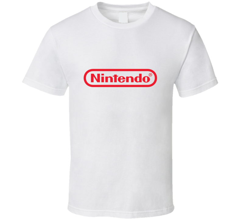 Nintendo Retro Classic Video Game Console Brand T Shirt