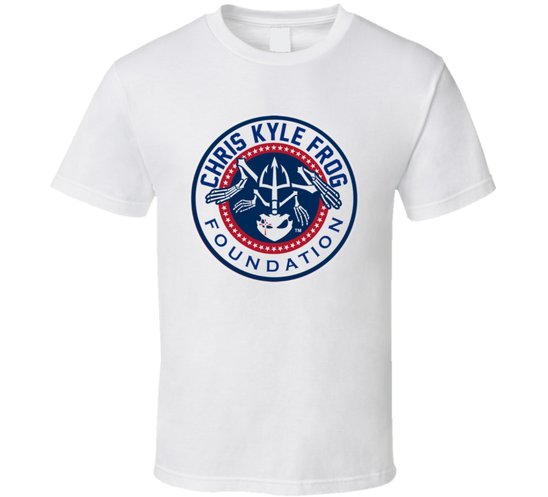 Chris Kyle Frog Foundation American Sniper Charity T Shirt