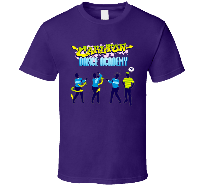 Carlton Banks Fresh Prince Of Bel Air Dance Academy T Shirt