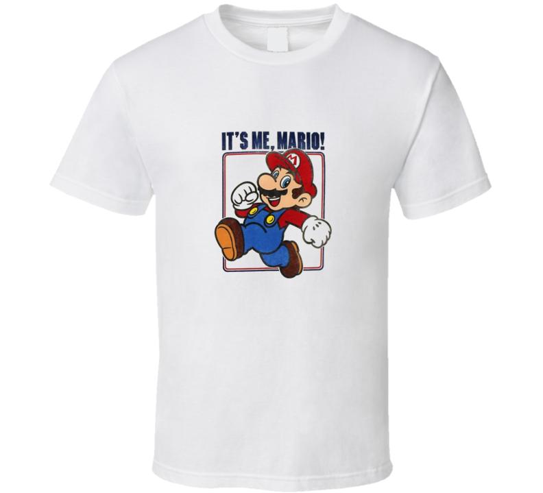 Super Mario Nontendo Classic Video Game T Shirt