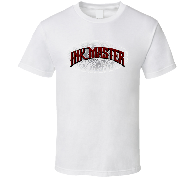 Ink Master Logo Reality Tattoo Tv Reality Show T Shirt