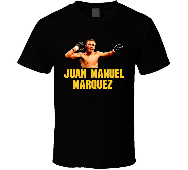Juan Manuel Marquez Classic Fighter Mexican Boxing T Shirt