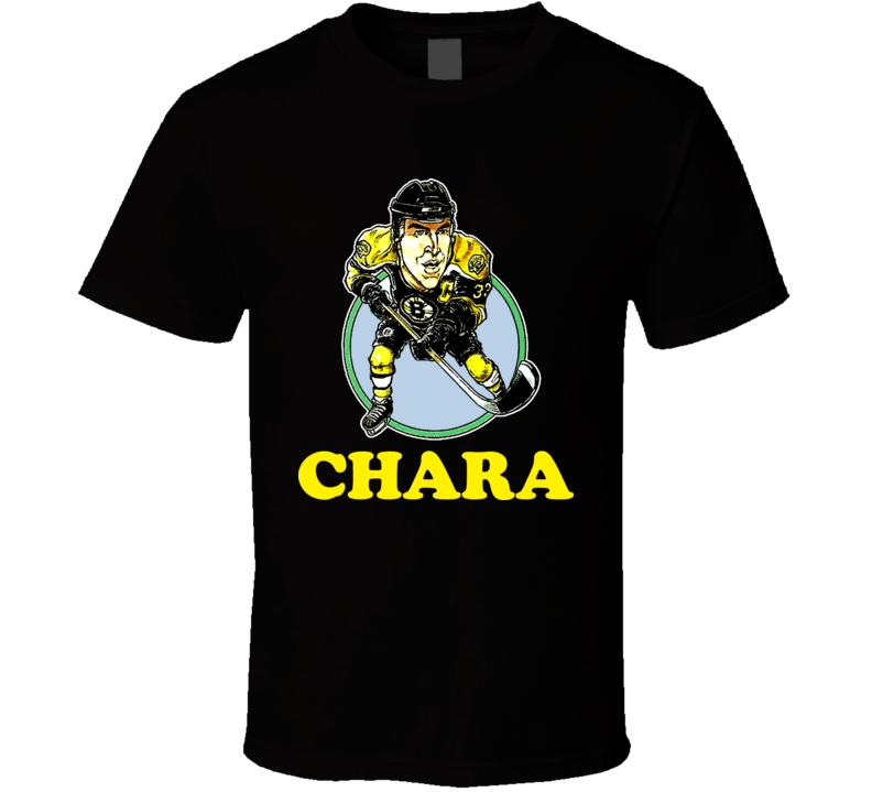 Zdeno Chara Boston Hockey Caricature T Shirt