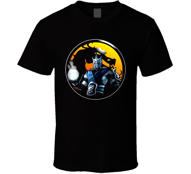 Sub Zero Mortal Kombat Fighting Classic Retro Vintage Video Game T Shirt
