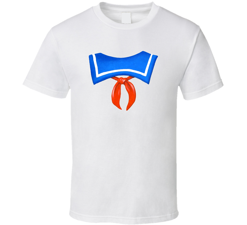 Superhero Costume Marshmellow Man Ghostbuster T Shirt