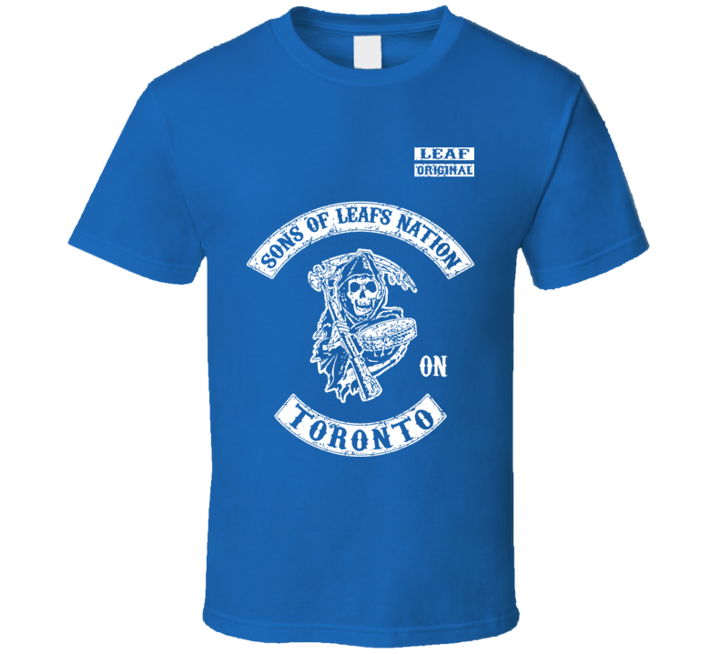 Sons Of Leafs Nation Hockey Toronto T Shirt