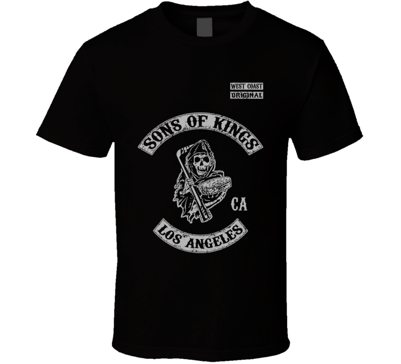 Sons Of Kings SOA Style Los Angeles Hockey T Shirt