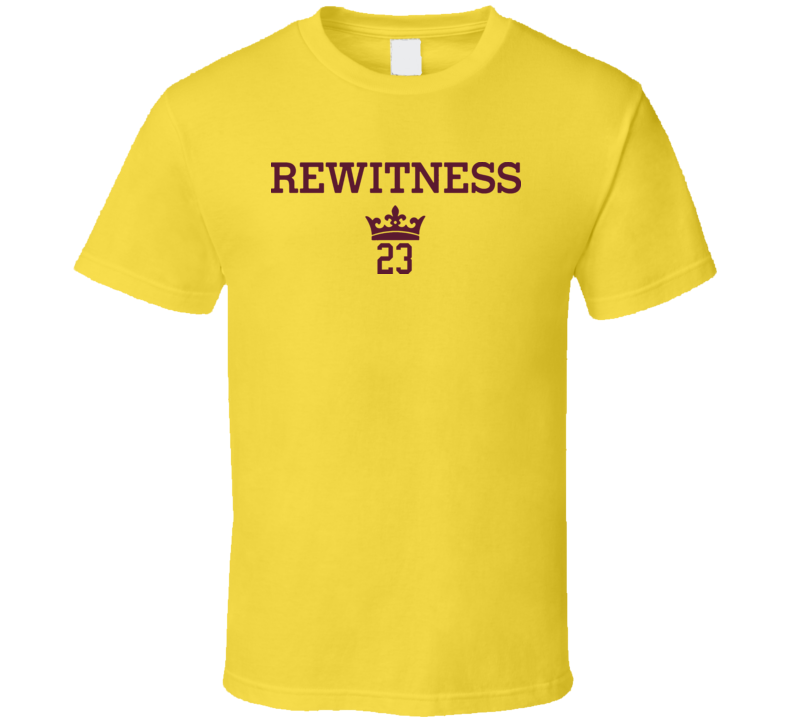 Rewitness 23 Back To Cleveland MVP Basketball T Shirt