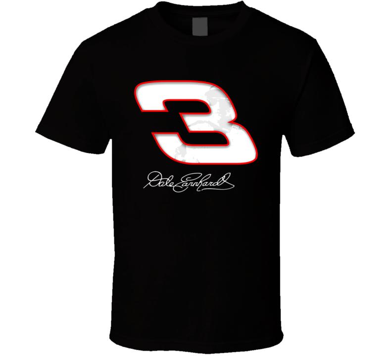 Dale Earnhardt Race Car Driver T Shirt