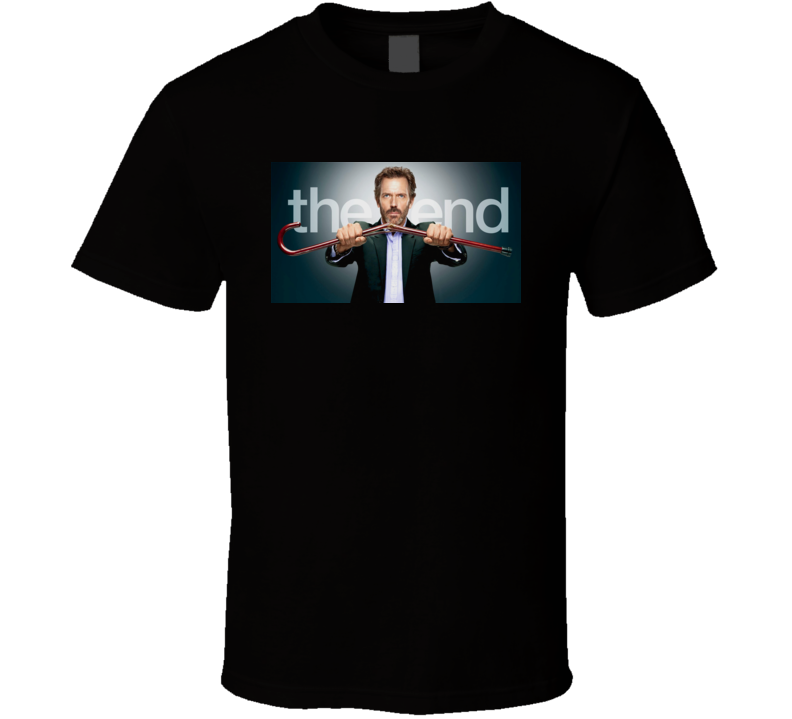 House Tv Show Dr House The End T Shirt