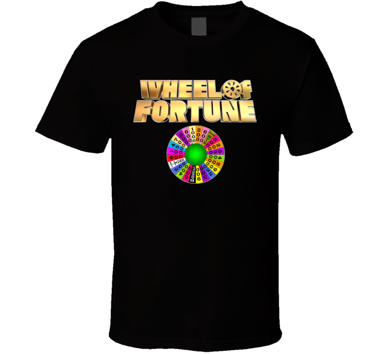 Wheel Of Fortune TV Game Show Classic T Shirt