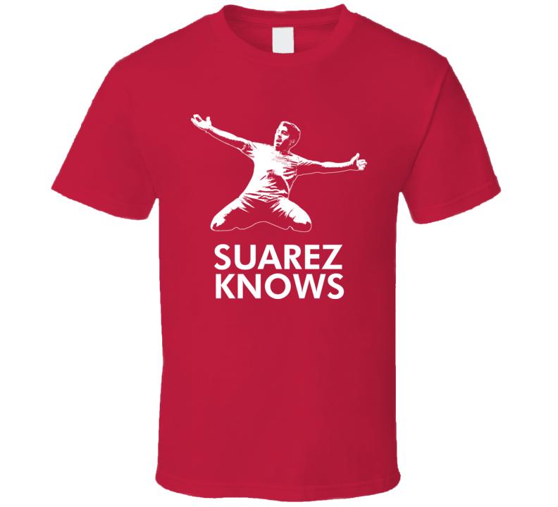 Luis Suarez Soccer Uruguay Striker Star Bo Know Style T Shirt