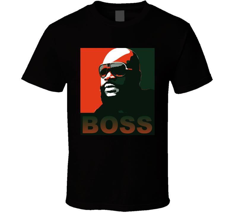 Rick Ross Hope Style Boss Music Rap Hip Hop Miami T Shirt